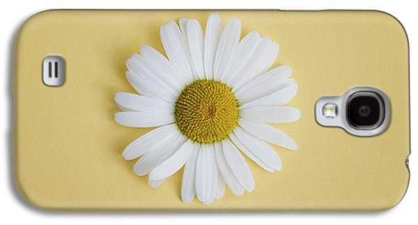 Oxeye Daisy Square Yellow Galaxy S4 Case by Tim Gainey