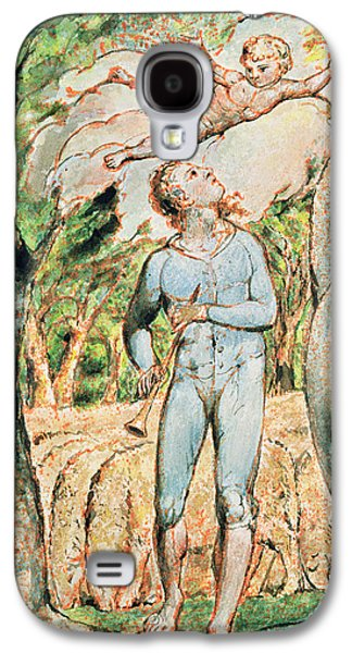 P.124-1950.ptl Frontispiece To Songs Galaxy S4 Case by William Blake