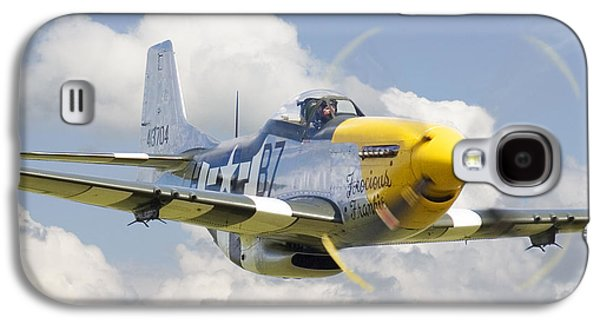 P51 Ferocious Frankie Galaxy S4 Case by Pat Speirs