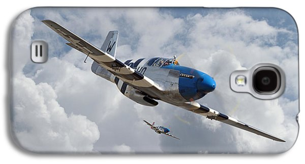 P51 Mustang - D-day Top Cover Galaxy S4 Case