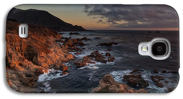 Pacific Coast Golden Light Galaxy S4 Case by Mike Reid