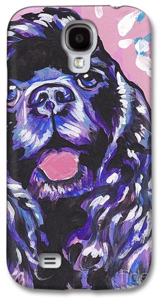 Paint It Black Galaxy S4 Case by Lea S