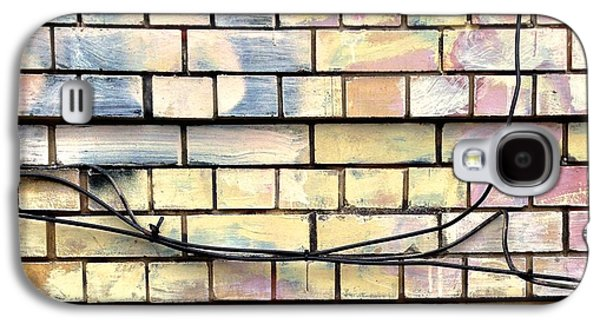 Colorful Galaxy S4 Case - Painted Brick by Julie Gebhardt