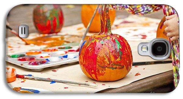 Painted Pumpkins Galaxy S4 Case