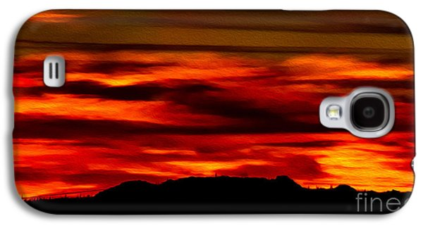 Galaxy S4 Case featuring the photograph Painted Sky 34 by Mark Myhaver