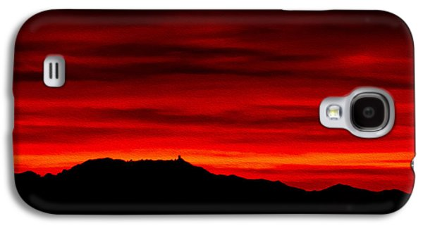 Galaxy S4 Case featuring the photograph Painted Sky 36 by Mark Myhaver