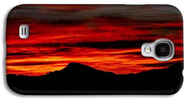Galaxy S4 Case featuring the photograph Painted Sky 45 by Mark Myhaver