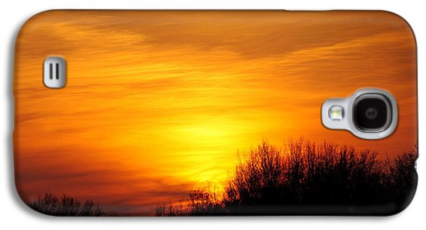 Painted Sky Galaxy S4 Case