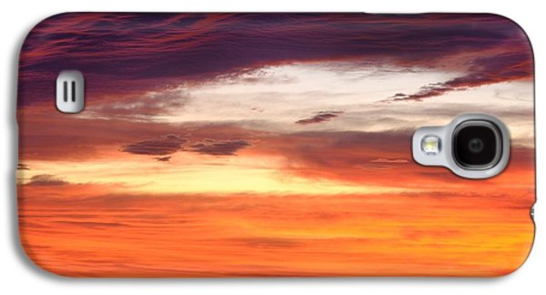 Painterly Sunrise On The Blue Ridge Parkway Galaxy S4 Case