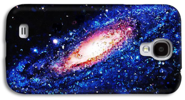 Painting Of Galaxy Galaxy S4 Case