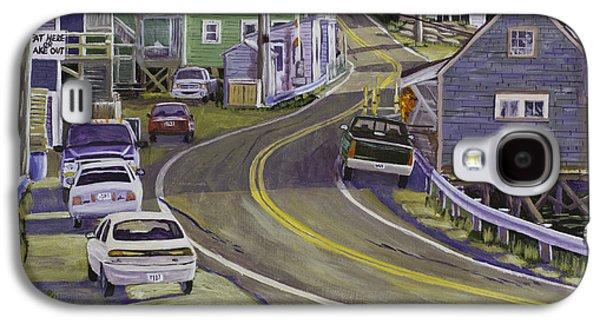 Main Street South Bristol Maine Galaxy S4 Case by Keith Webber Jr