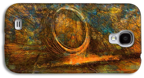 Painting With Fury Galaxy S4 Case by Dan Sproul