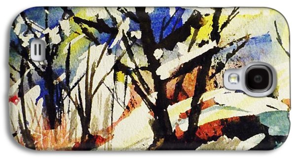 Palenville Winter Abstract - Catskills Galaxy S4 Case