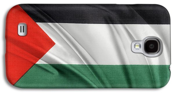 Palestine Flag Galaxy S4 Case by Les Cunliffe