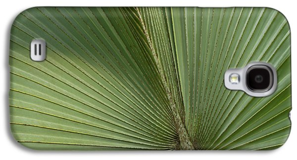Palm, Belize Botanic Garden Galaxy S4 Case by William Sutton