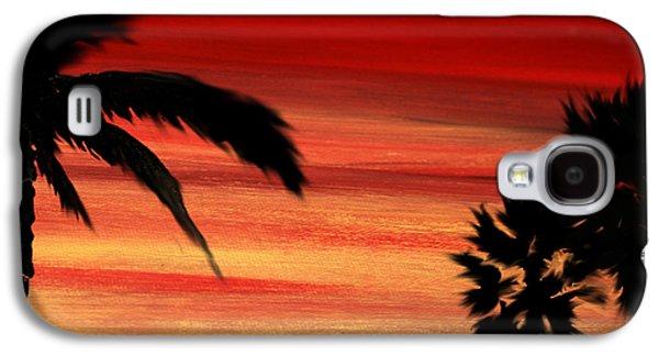 Palm Set Galaxy S4 Case by Ryan Burton