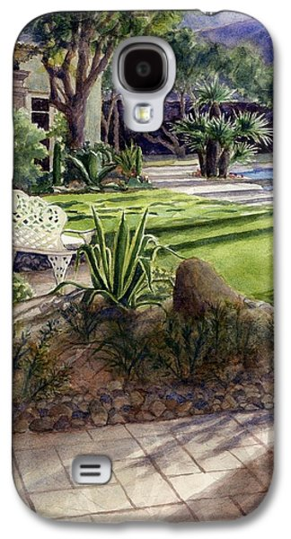 Palm Springs Backyard Galaxy S4 Case by Janet King