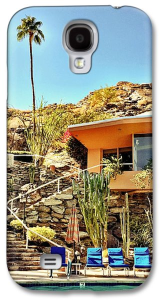 Palm Springs Pool Galaxy S4 Case