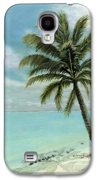 Palm Tree Study Galaxy S4 Case by Cecilia Brendel