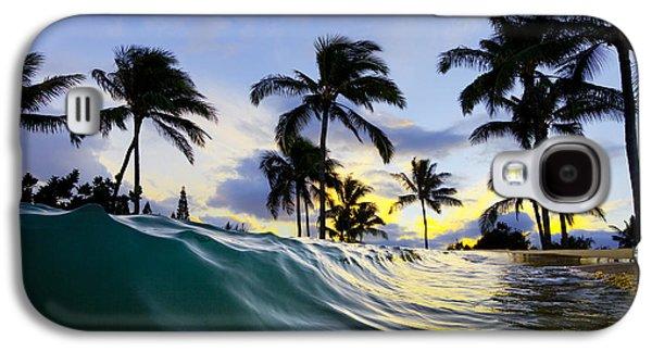 Palm Wave Galaxy S4 Case by Sean Davey