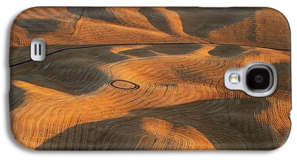 Palouse Contours V Galaxy S4 Case by Latah Trail Foundation