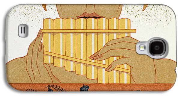 Pan Piper Galaxy S4 Case by Georges Barbier