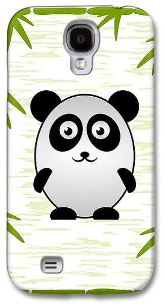 Panda - Animals - Art For Kids Galaxy S4 Case