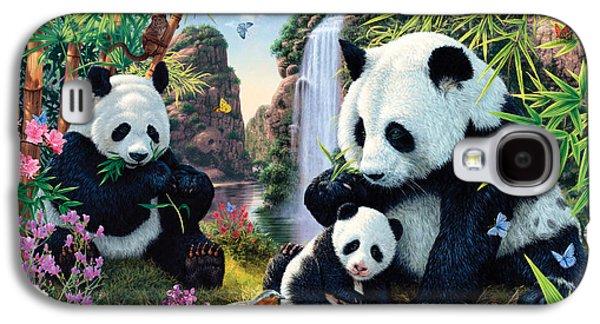 Panda Valley Galaxy S4 Case