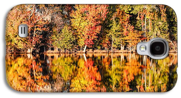 Panorama Of Fall Colors At Martin Dies Junior State Park - Jasper Piney Woods East Texas Galaxy S4 Case