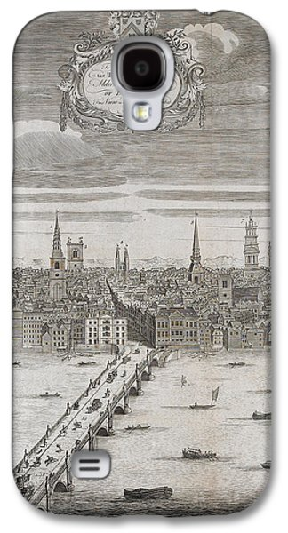 Panorama Of London Galaxy S4 Case by British Library