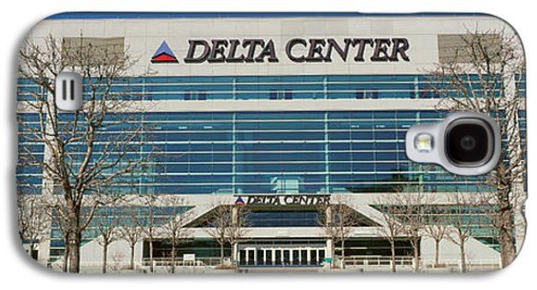 Panoramic Of Delta Center Building Galaxy S4 Case by Panoramic Images
