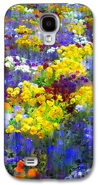 Pansy Party Galaxy S4 Case