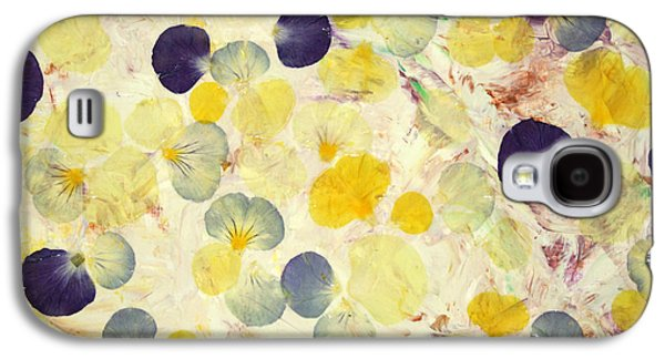 Pansy Petals Galaxy S4 Case by James W Johnson