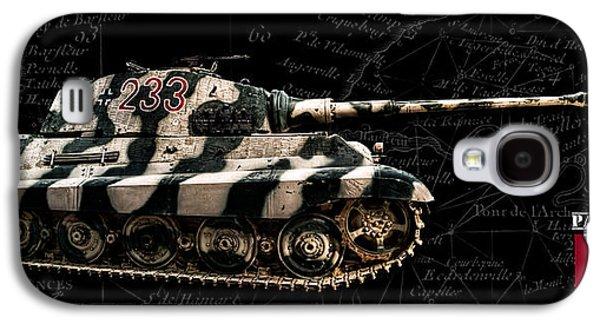 Panzer Tiger II Side Bk Bg Galaxy S4 Case