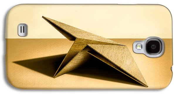 Jet Galaxy S4 Case - Paper Airplanes Of Wood 7 by YoPedro