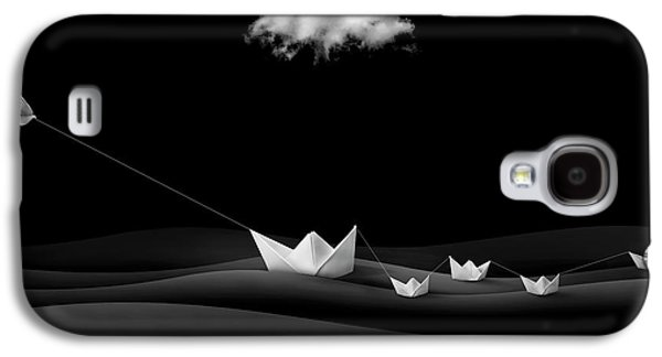 Paper Boats Galaxy S4 Case