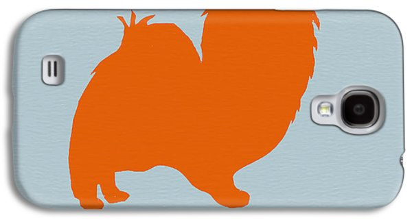 Papillion Orange Galaxy S4 Case by Naxart Studio