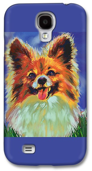 Papillion Puppy Galaxy S4 Case