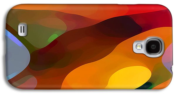 Abstract Movement Galaxy S4 Case - Paradise Found by Amy Vangsgard