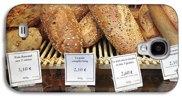Paris Food Photography - Paris Au Pain Bakery Patisserie - French Bread Galaxy S4 Case
