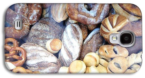 Paris Food Photography - Paris Au Pain - French Breads And Pretzels Galaxy S4 Case