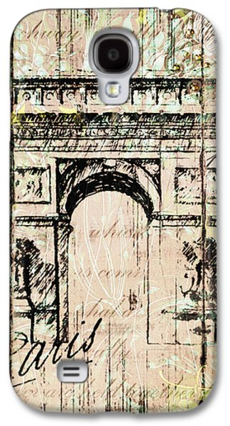 Paris Gate Vintage Poster Galaxy S4 Case