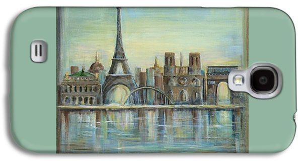 Paris Highlights Galaxy S4 Case by Marilyn Dunlap