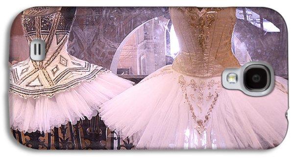 Paris Opera Garnier Ballerina Dresses - Paris Ballet Opera Tutu Costumes - Paris Opera Des Garnier  Galaxy S4 Case by Kathy Fornal