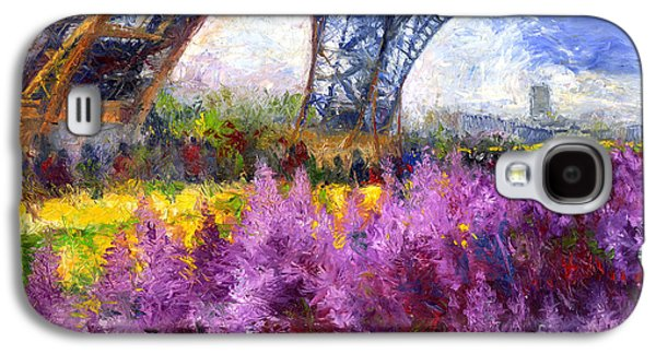 Paris Tour Eiffel 01 Galaxy S4 Case by Yuriy  Shevchuk