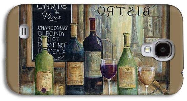 Paris Wine Tasting Galaxy S4 Case by Marilyn Dunlap