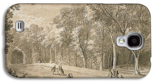 Park Scene Jean-baptiste Oudry, French Galaxy S4 Case by Litz Collection
