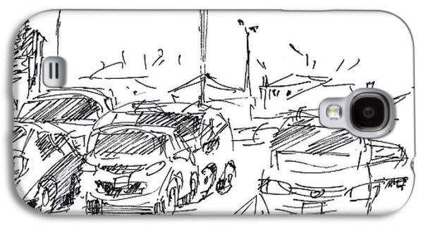 Parking Lot  Galaxy S4 Case by Ylli Haruni