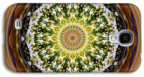 Parkside Mandala Galaxy S4 Case by Bill Barber