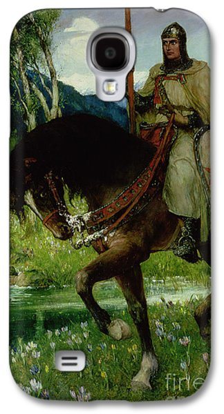 Parsifal In Quest Of The Holy Grail Galaxy S4 Case by Ferdinand Leeke
